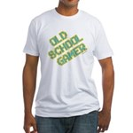 Old School Gamer Fitted T-Shirt