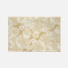SAND DOLLAR COLLAGE Rectangle Magnet