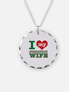 I love my Jordanian Wife Necklace