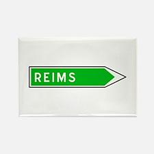 Roadmarker Reims - France Rectangle Magnet
