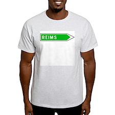 Roadmarker Reims - France Ash Grey T-Shirt