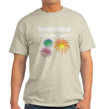 firework-tech-keep-up-dark T-Shirt