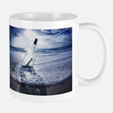 MESSAGE IN A BOTTLE Mug