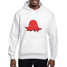 Blushing Red Squid Hoodie