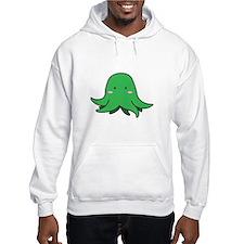 Blushing Green Squid Hoodie