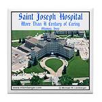 St Joseph Hospital Tile Coaster