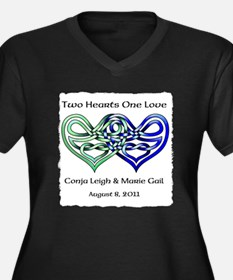 Two Hearts Goddess Proportioned T-Shirt