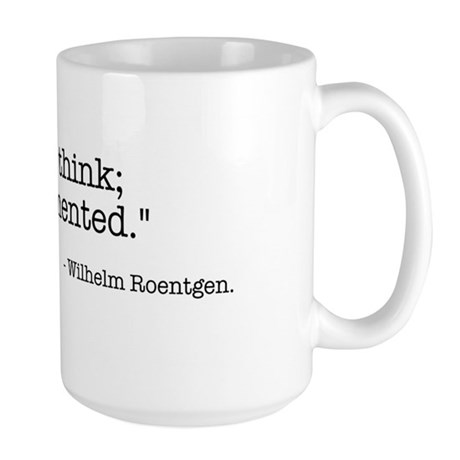 Rontgen Large Mug