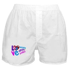 Cute Love Before First Sight Boxer Shorts