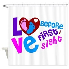 Cute Love Before First Sight Shower Curtain