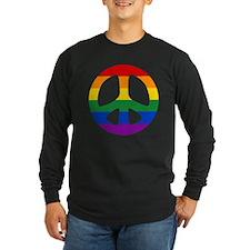 Rainbow Flag Peace T