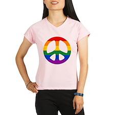 Rainbow Flag Peace Performance Dry T-Shirt