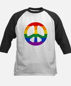 Rainbow Flag Peace Tee