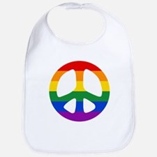 Rainbow Flag Peace Bib