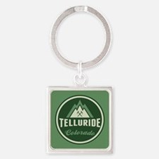 Telluride Mountain Circle Keychains