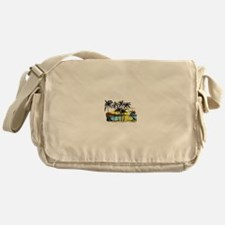 TROPICAL SUNSET Messenger Bag