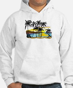 TROPICAL SUNSET Hoodie