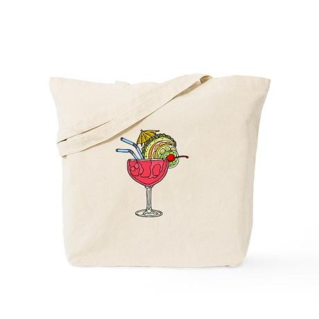 PINK FRUITY DRINK Tote Bag