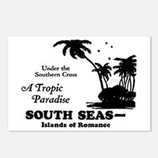 SOUTH SEAS Postcards (Package of 8)