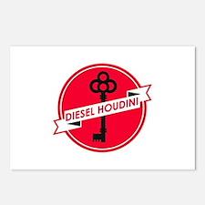 Diesel Houdini Postcards (Package of 8)