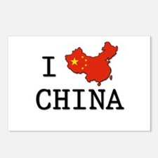 I Heart China Postcards (Package of 8)