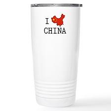 I Heart China Travel Mug