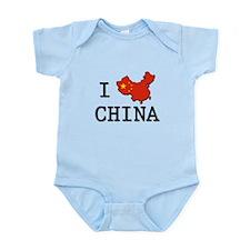 I Heart China Body Suit