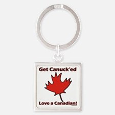 Get Canucked Keychains