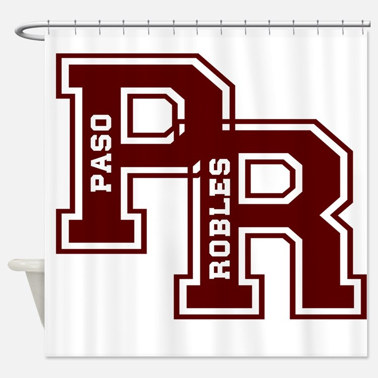 PR paso robles Shower Curtain