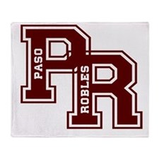 PR paso robles Throw Blanket