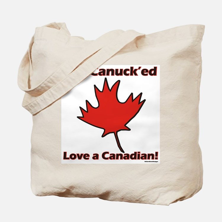 Get Canucked Tote Bag