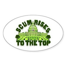Scum Rises To The Top Decal