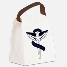 Chiropractic 2 blue Canvas Lunch Bag