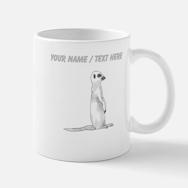 Custom Meerkat Mug