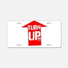 turn up Aluminum License Plate
