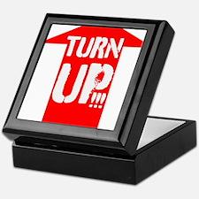 turn up Keepsake Box
