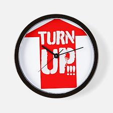 turn up Wall Clock