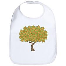 Orange Tree Bib