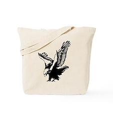 Black Eagle Tote Bag