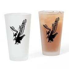 Black Eagle Drinking Glass