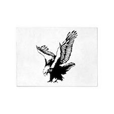 Black Eagle 5'x7'Area Rug