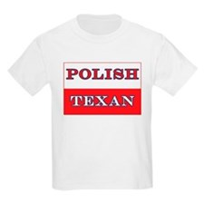 Poland Map Polish Texan Kids T-Shirt