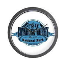 cuyahoga valley 1 Wall Clock