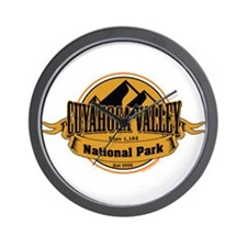 cuyahoga valley 5 Wall Clock