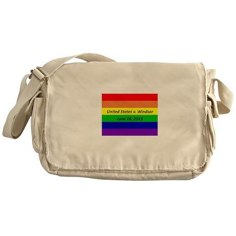 Gay Rights Commemorative Messenger Bag