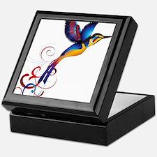 Colorful Hummingbird Keepsake Box