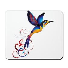 Colorful Hummingbird Mousepad