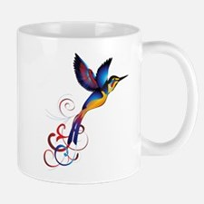 Colorful Hummingbird Mug
