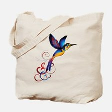 Colorful Hummingbird Tote Bag