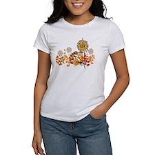 Autumn Crysanthemum Tee